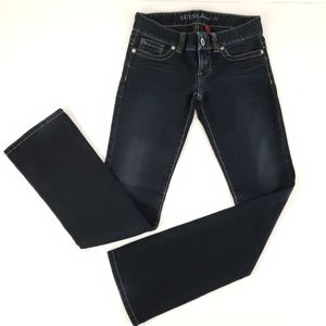 Guess Jeans Daredevil Bootcut Jeans, Low Rise